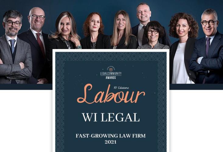WI LEGAL premiata ai Labour Awards