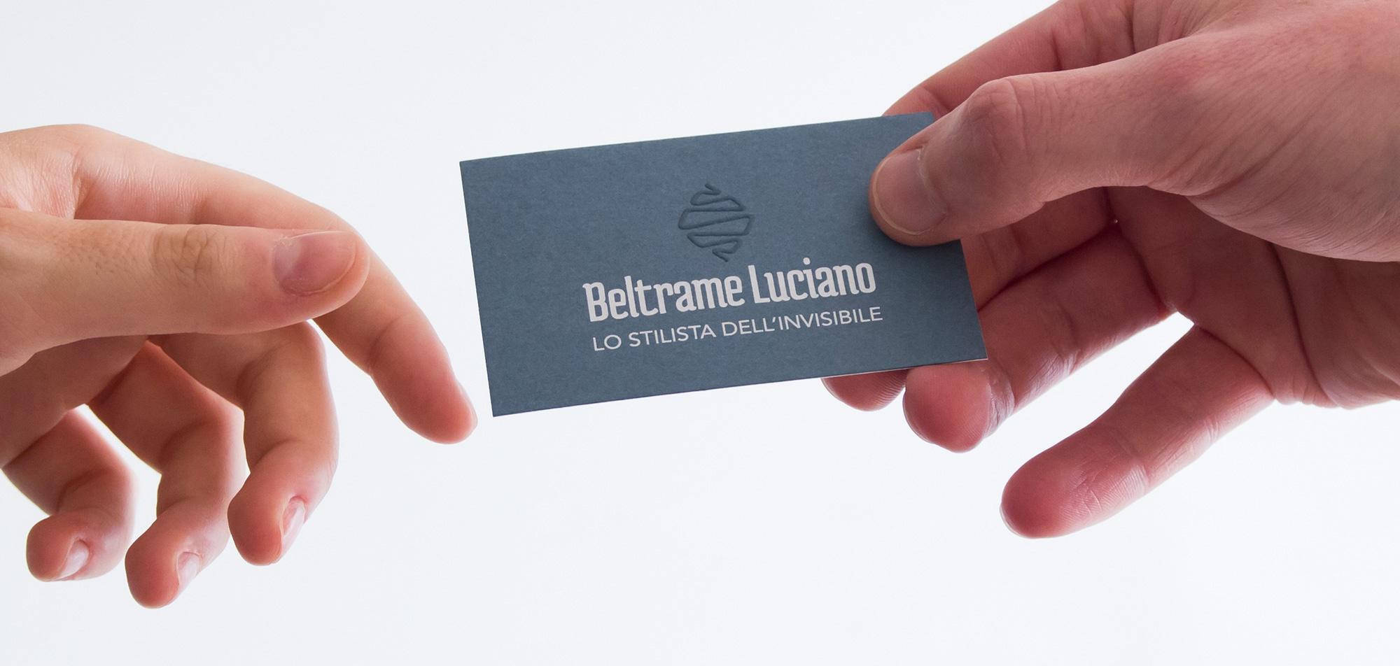 Studio grafico del marchio e dell'immagine aziendale per l'azienda produttiva Beltrame Luciano