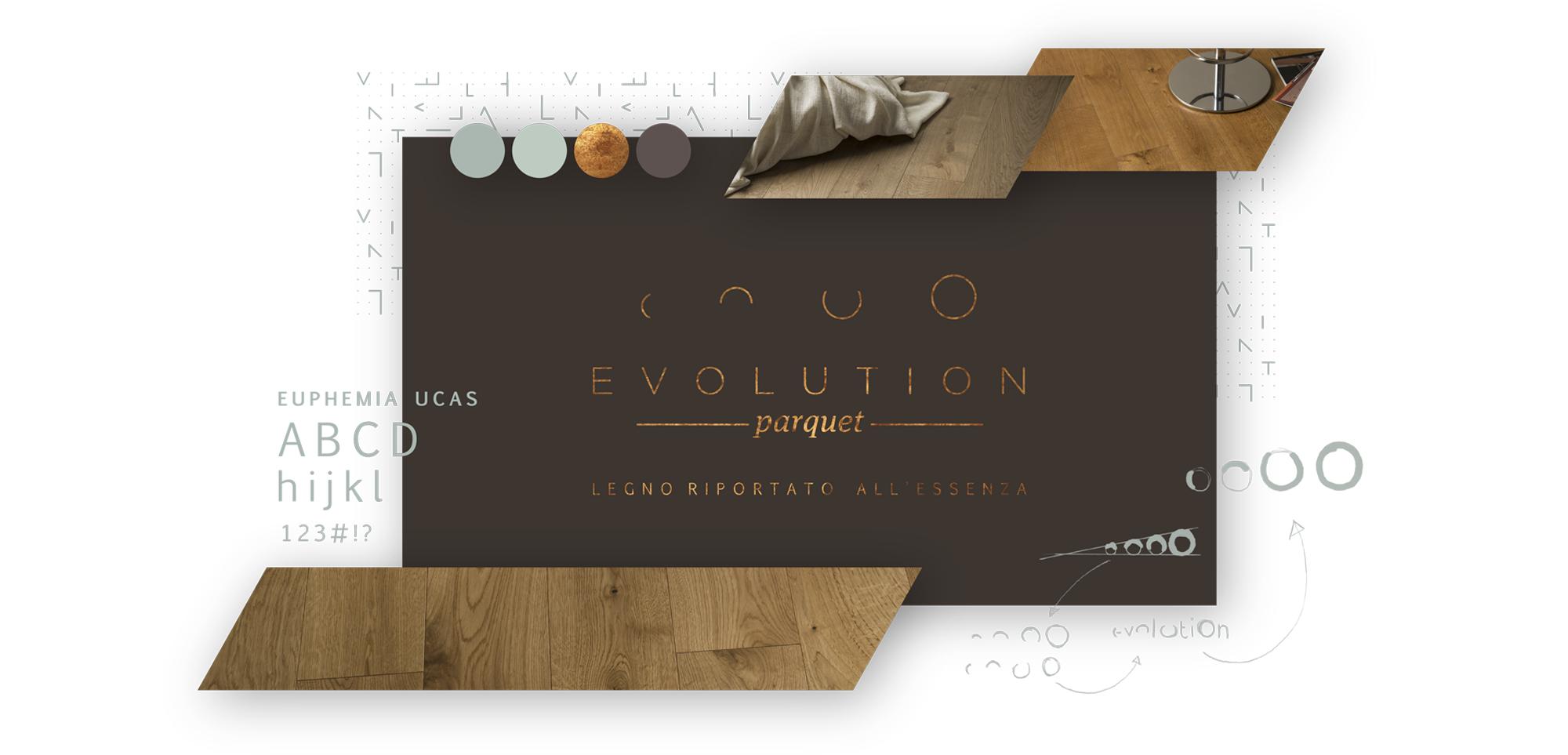 Tavola di stile degli elementi di Evolution Parquet