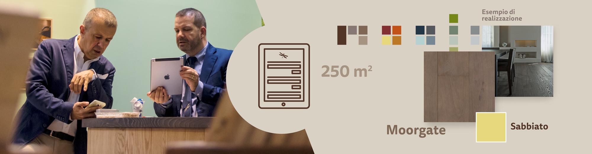 Strumenti di lavoro per rivenditori di rivestimenti in legno: il caso di Mardegan Legno