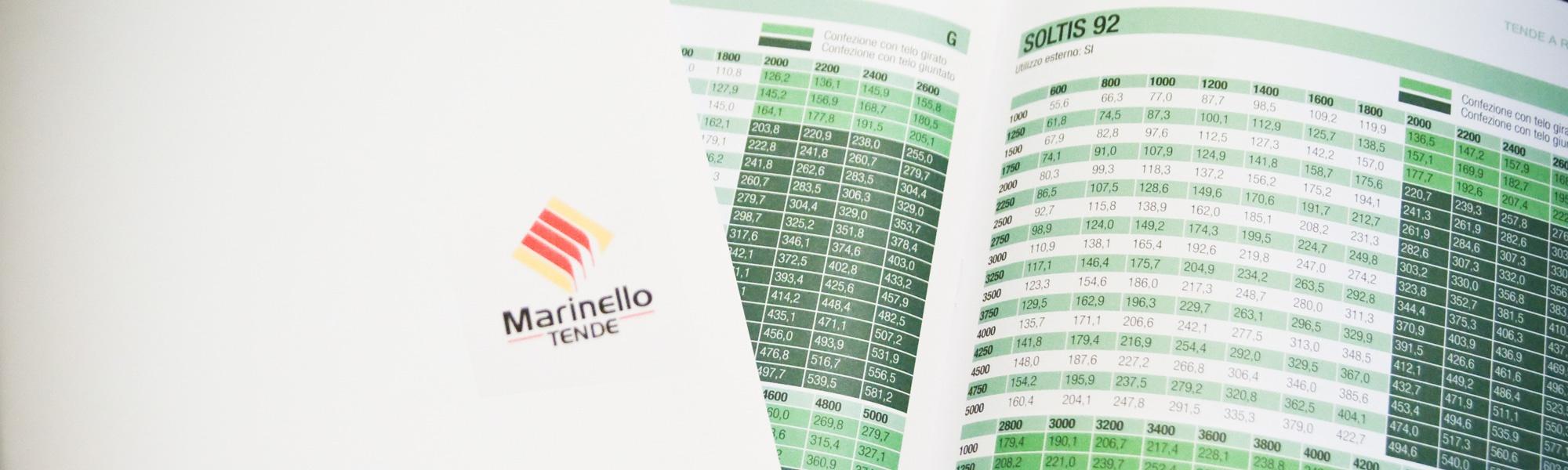 Listino prezzi di Marinello Tende