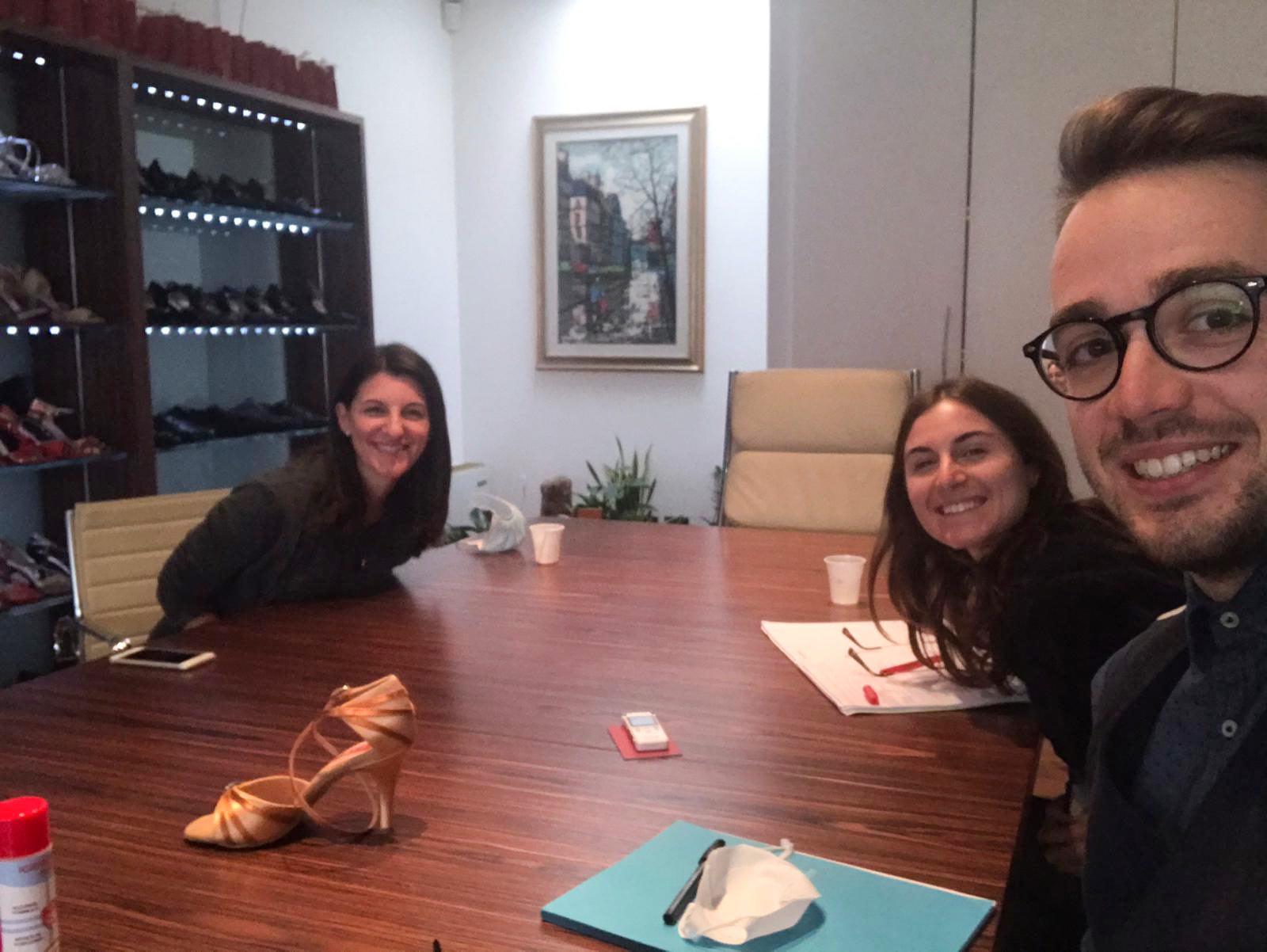 Il team di Liquid Diamond alla scoperta dell'identità di marca Paoul con Katia Pizzocaro