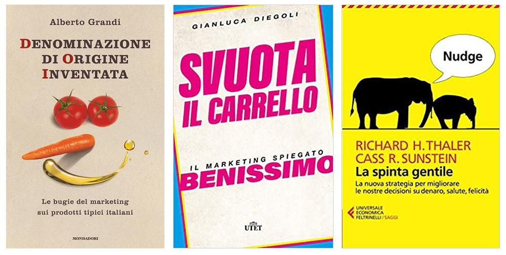 Tre libri per chi si occupa di marketing alimentare