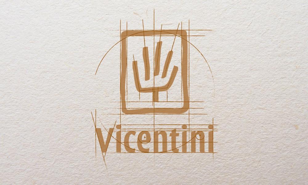 Progettazione del marchio di Vicentini